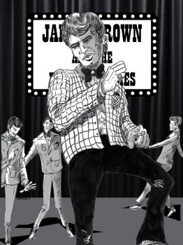 James Brown and the Famous Flames by cosmicplasm