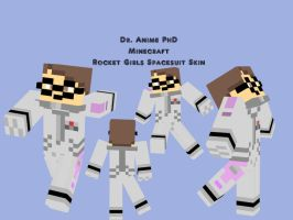 My Spacesuit Minecraft skin by Dr-Scaphandre