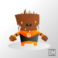Larfleeze - Agent Orange by DanielMead