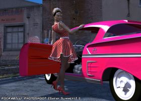 Rockabilly Photoshoot 5 - Sarah Summers by MTLs-Imaging