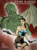Tomb Raider - The abyss of Cthulhu by girib