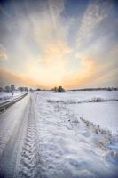Swedish winter II by matophoto