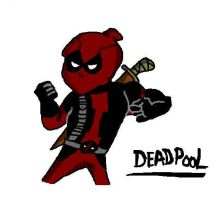 Deadpool drawn in my style by DeadpoolFool