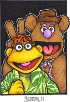 Scooter and Fozzy by Loyin
