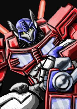Optimus.. by adamantis