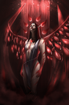 Goddess of blood by Yakimura-Art