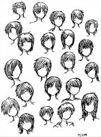 Boy Hairstyles by DNA-lily