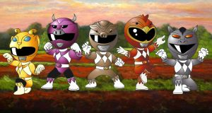 Power Rangers Farm Force by RiderB0y