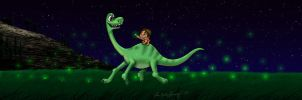 The Good Dinosaur Friendship by Peacekeeperj3low