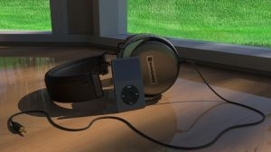 Beyerdynamic DT 880s with iPod Classic by polygonbronson