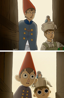 Over the Garden Wall re-draw by ShadesofSilver7
