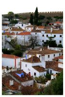 Obidos View VIII by FilipaGrilo