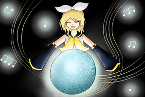 Rin Kagamine- A song for the world by ChocoxKii