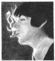 Paul and his smoke by Macca4ever