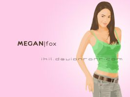 megan fox by ikil