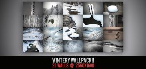 Wintery Wallpack II by Vipee