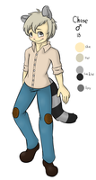 OC Redesign - Chase by PonderingChibi