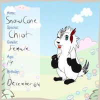 Snowcone ref by sshoes