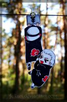 Kaku Hidan hanging paperchilds by Fukari