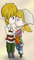 Art Trade: Link x Peatrice by Ask-Ghirahim