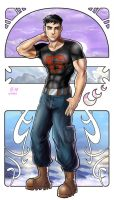 Superboy by Autumn-Sacura