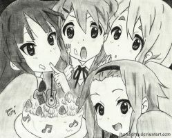 K-ON! by jhonakitty