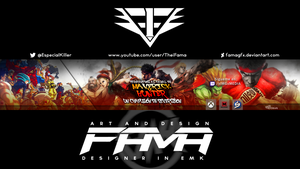 Banner-streetfighter-Maverick by FamaGFX