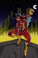 Spider-Woman by Xanditz