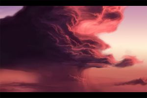 Storm Cloud Study by sumopiggy