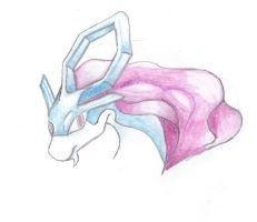 Legend Suicune Unfinished by Angel-Of-Humility