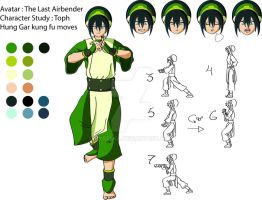 Study : Toph Bei Fong by Ny0zeka