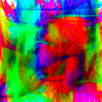 Nightmare Abstract 50: A Symphony Of Color by TheSkull31
