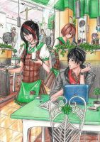 CLAC: Suasana Cafe Colored by Syndicth
