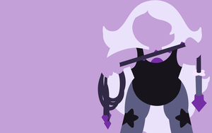 Amethyst Wallpaper by Cuppa003