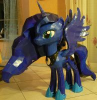 Project Princess Luna MLP fully folded by Znegil