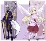 Adopts: Fox and Angel [Open] by WolfsNeverDie