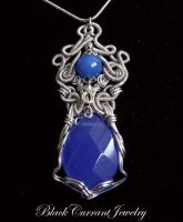 Cobalt Blue Dream by blackcurrantjewelry