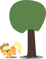 Bucking Jack Tree - Vector by GuruGrendo