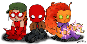 Baby Outlaws by Super-kip