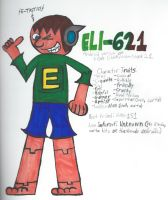 ELI-621 (Android version of me!) by GoldenEubank21
