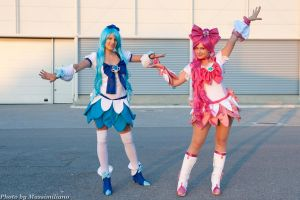 Cure Blossom from Pretty Cure by Miwako-cosplay