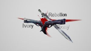 Devil May Cry 5 - Guns by Binary-Map