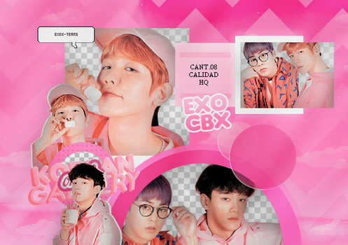 EXO-CBX | PACK PNG by KoreanGallery