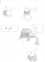 Catalia: Sneaky Food p2 by Zinnestheyl