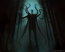 Slenderman by DamienWorm