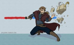 Can't touch this Jedi by MissKeith