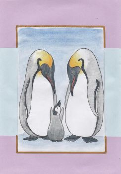 Penguins by annelune