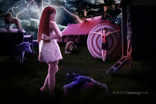 Night Circus by art1st1cDes1gn