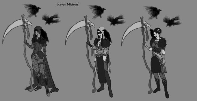 The Raven Mistress by raspeire
