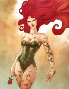 DC Femme Fatales: Poison Ivy by annecain